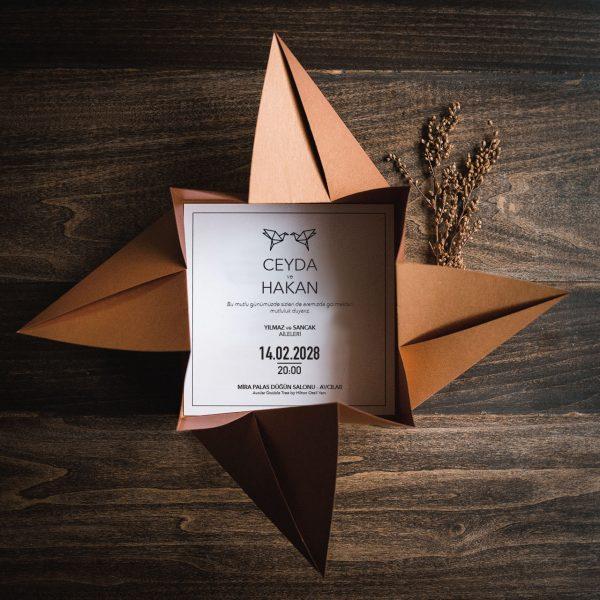 Origami Davetiye 40200 2
