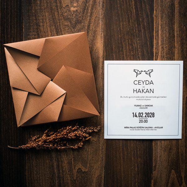 Origami Davetiye 40200 1