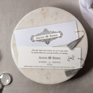 Wedding Davetiye 8176 3