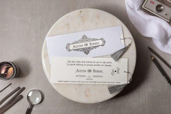 Wedding Davetiye 8176 1
