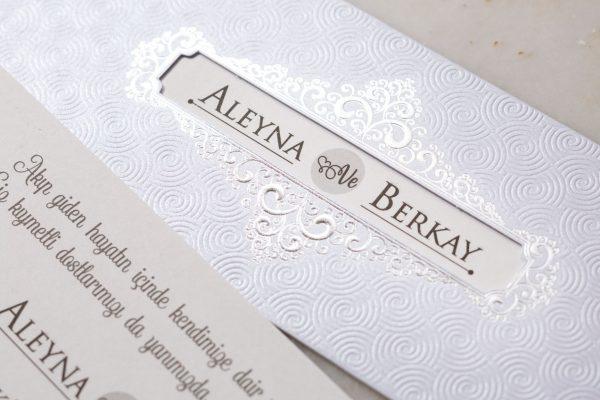 Wedding Davetiye 8176 2