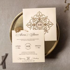 Wedding Davetiye 8326 4