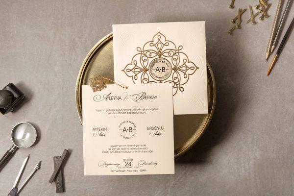 Wedding Davetiye 8326 1
