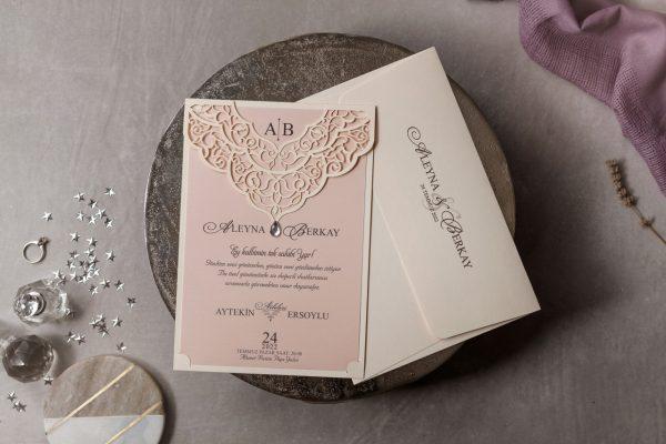 Wedding Davetiye 8377