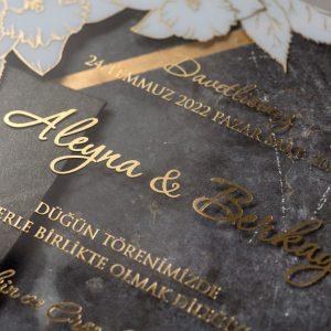 Wedding Davetiye 8379 7