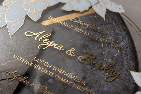 Wedding Davetiye 8379 3