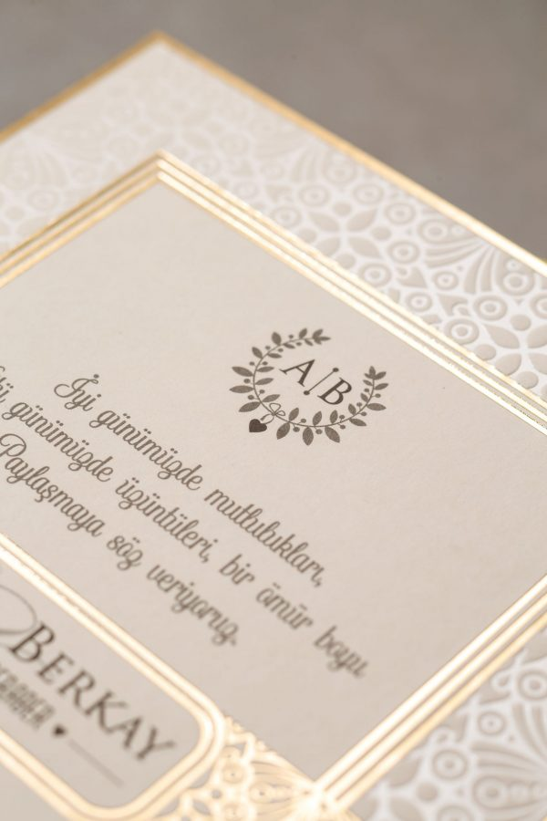 Wedding Davetiye 8380 2