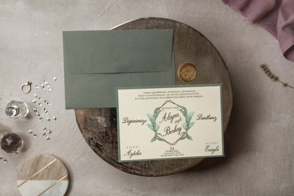 Wedding Davetiye 8381 1