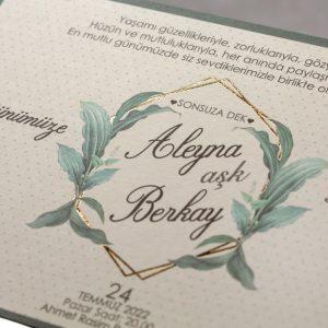 Wedding Davetiye 8381 8