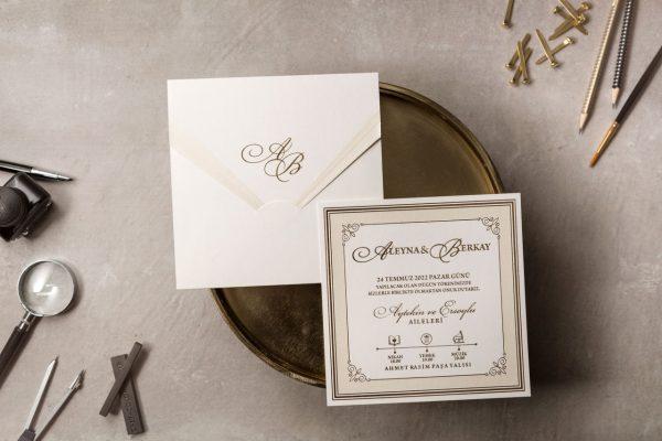 Wedding Davetiye 8382 1