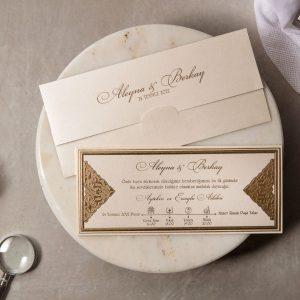 Wedding Davetiye 8393