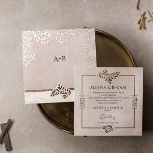 Wedding Davetiye 8394 5