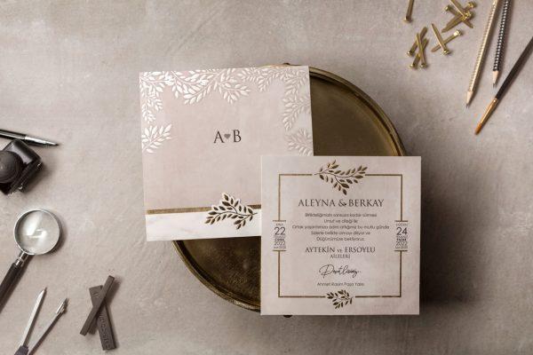Wedding Davetiye 8394 1