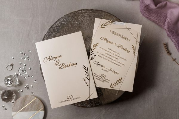 Wedding Davetiye 8401 3