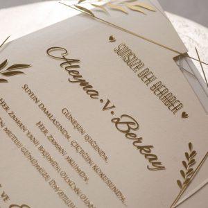 Wedding Davetiye 8401 8