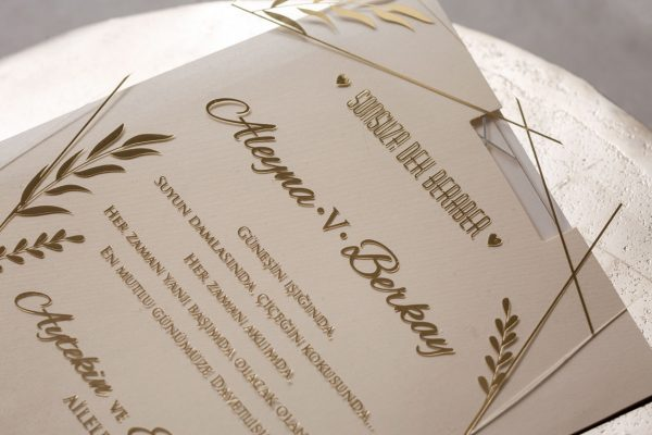 Wedding Davetiye 8401 4