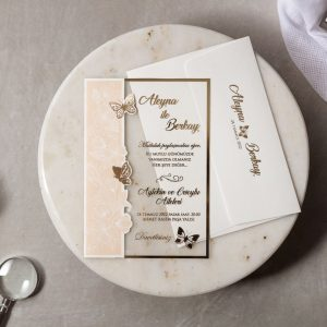 Wedding Davetiye 8414 3