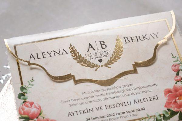 Wedding Davetiye 8431 4