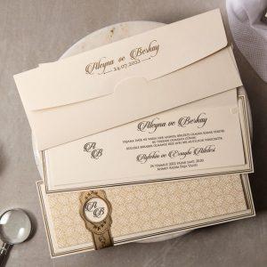 Wedding Davetiye 8433 3