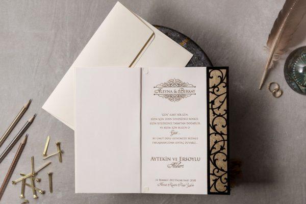 Wedding Davetiye 8435 2