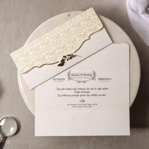Wedding Davetiye 8452 3