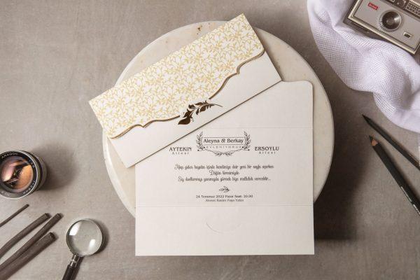 Wedding Davetiye 8452 1