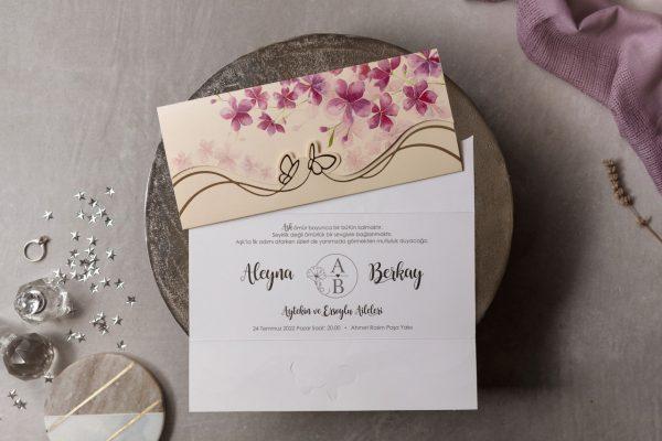 Wedding Davetiye 8453 1